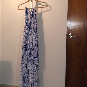 * NEW * OLIVACEOUS High Low Maxi Dress